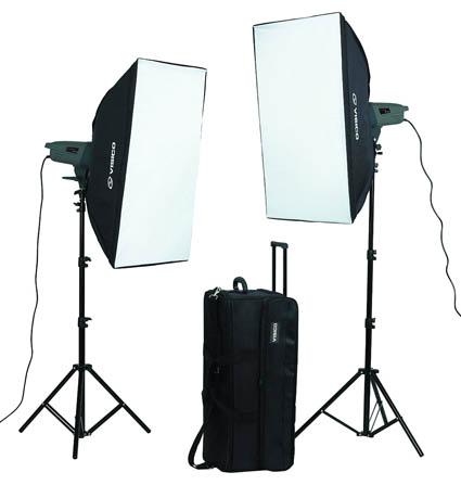 VE-400 Soft Box Kit