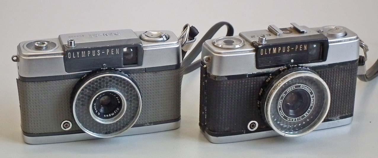 b983f36b8 Olympus Pen EE Cameras